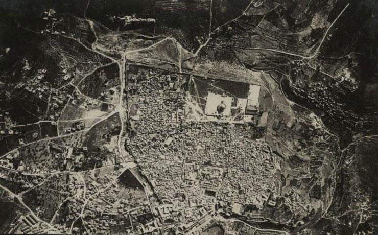 צילום אוויר גרמני בשנת 1914 הכנות לקראת המלחמה