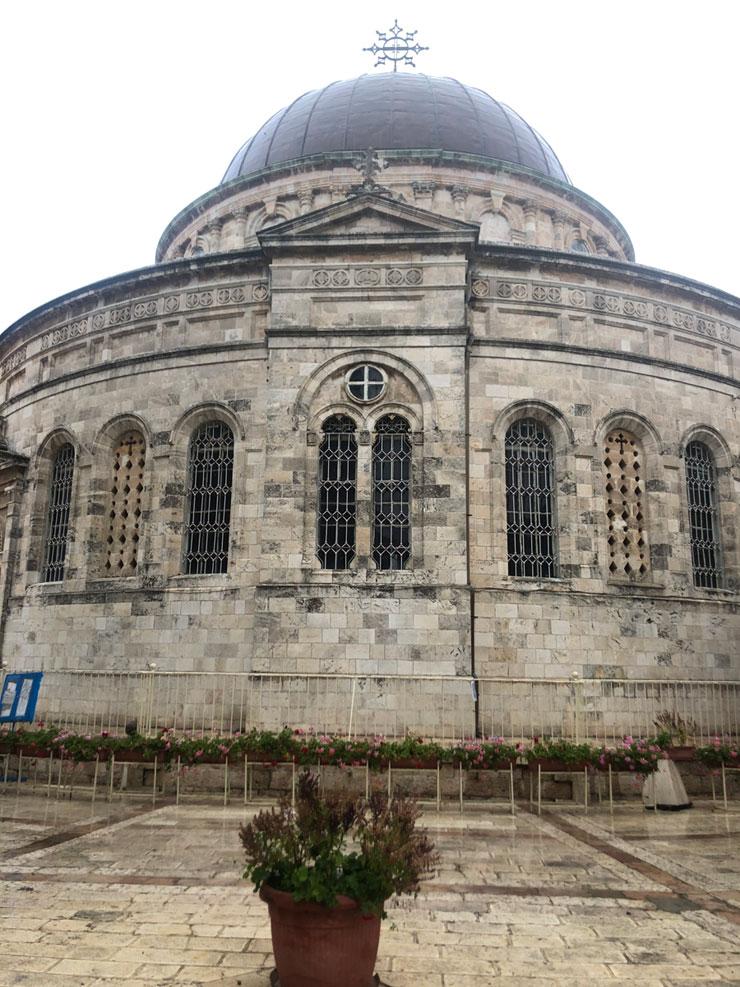 מבנה הכנסייה. בנוי כמו הכנסיות ההיסטוריות באתיופיה