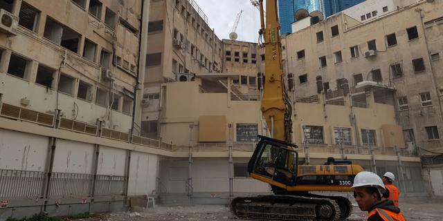 החלה הריסת בית מעריב בתל אביב לטובת בנייית מגדל משרדים