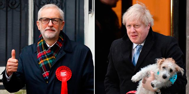 תוצאות בבריטניה: ניצחון ענק לג'ונסון והשמרנים, קורבין יפרוש; הפאונד מזנק מול הדולר