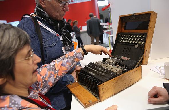 מכונת האניגמה, צילום: גטי אימג