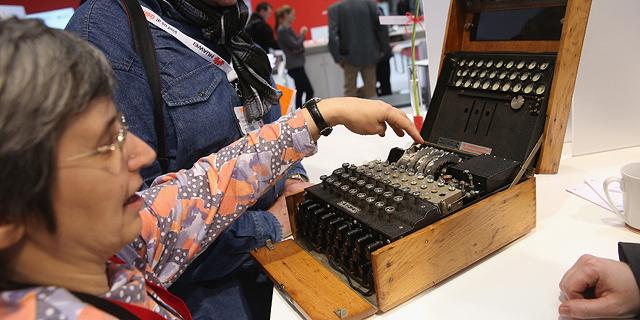 מכונת הצפנה נדירה של הצבא הנאצי מוצעת למכירה