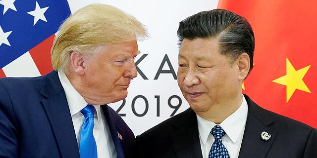 """הסכם סחר בין ארה""""ב לסין? חכו עם השמפניות"""