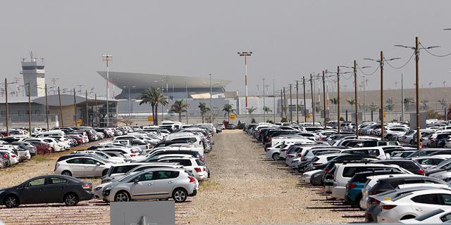 """בתכנון: החניון בנתב""""ג יורחב ב־30% ויכיל 26 אלף חניות"""