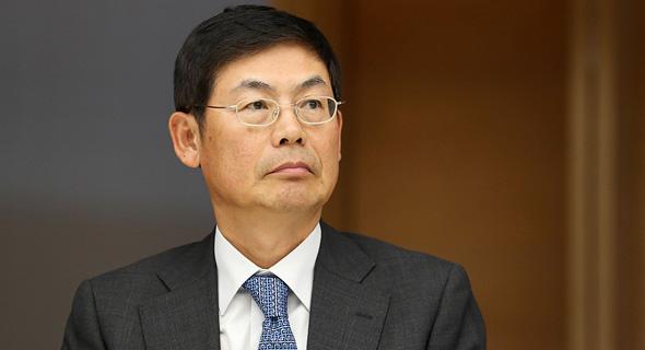 """יו""""ר סמסונג לי סאנג הון Lee Sang-hoon1 כלא, צילום: בלומברג"""