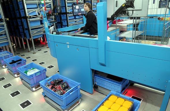 מרכז לוגיסטי רובוטי רמי לוי , צילום: יריב כץ