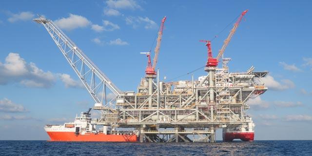 משרד האנרגיה נתן אור ירוק - הזרמת הגז מלווייתן תתחיל ביום שני