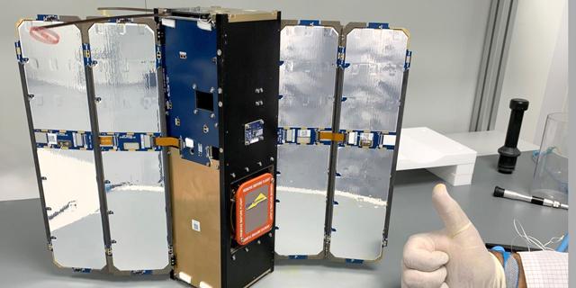 אלביט מערכות שיגרה לוויין ראשון לחלל