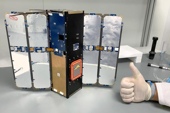 ננובה - לוויין החלל הראשון של אלביט