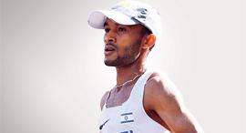 מארו טפרי אצן ריצה מרתון ישראלי , צילום: טיבור ייגר