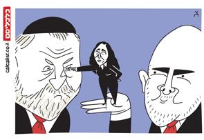 קריקטורה 19.12.19, איור: צח כהן