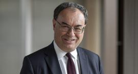 אנדרו ביילי מושל הבנק האנגלי , צילום: בלומברג