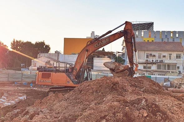 הקרקע של פרויקט לנדמרק. הוועדה המחוזית צפויה לאשר את התוכנית להפקדה