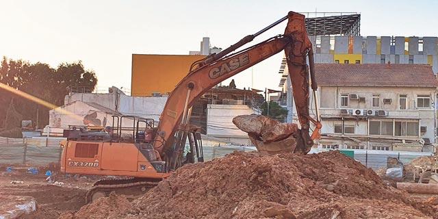 הקרקע של פרויקט לנדמרק. הוועדה המחוזית צפויה לאשר את התוכנית להפקדה, צילום: אוראל כהן