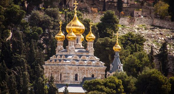 הכנסיה הרוסית , הכנסיה הרוסית ירושלים קתדרלת מריה מגדלנה