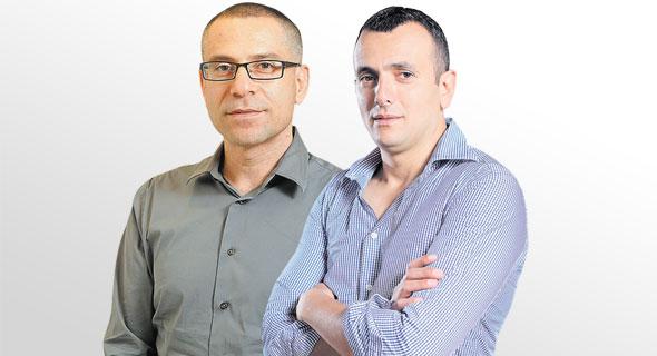 """מנכ""""ל משרד האוצר שי באב""""ד ומנהל רשות המסים ערן יעקב, צילום: אוראל כהן"""