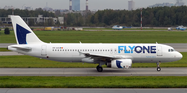 Moldovan Low-Cost Airline FlyOne Launches Tel Aviv-Chisinau Route