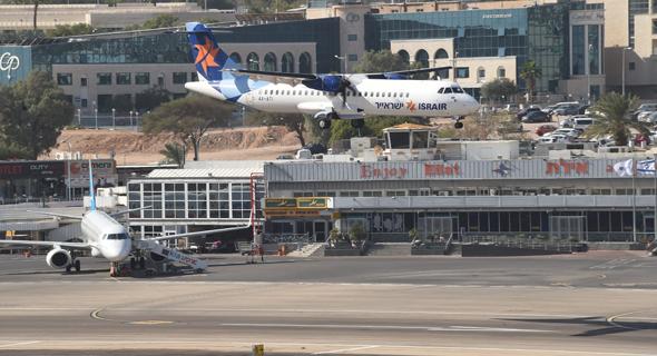 נמל התעופה באילת. הטרמינל בדרום ייהפך לבית תרבות, תאטרון וגלריה , צילום: יאיר שגיא