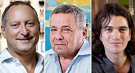 אדם נוימן, אורי יהודאי ודניאל בירנבאום, צילומים: דן קינן, דנה קופל, עמית שעל