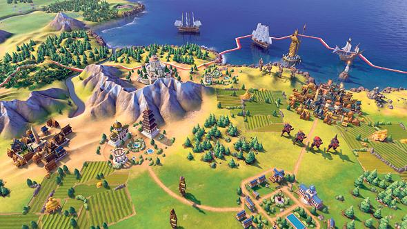 משחק המחשב Civilization. משחק מאתגר ומורכב שנמשך הרבה מאוד שעות