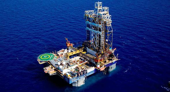 """אסדת הגז תמר. """"תגלית הגז הגדולה בעולם זה עשור"""", צילום: אלבטרוס"""