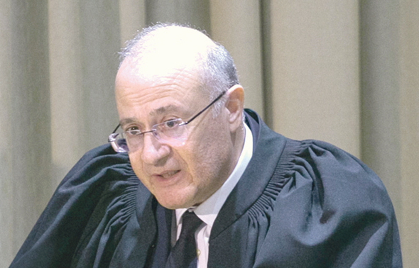 השופט יוסף אלרון, צילום: אוהד צויגנברג