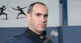 אוהד בלווה מאמן סייף, צילום: אוראל כהן