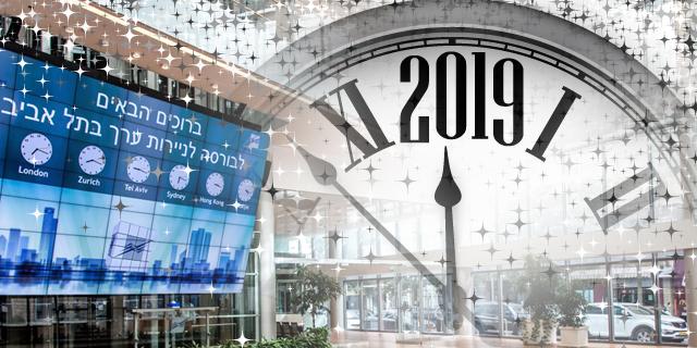 """העולות, היורדות והמתנדנדות; סיכום שנת המסחר 2019 בבורסת ת""""א"""