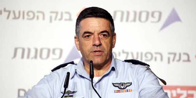 אלוף עמיקם נורקין מפקד חיל האוויר, צילום: יריב כץ