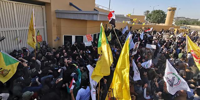 שוב עימותים בבגדד; חמינאי: טראמפ לא יכול לעשות דבר
