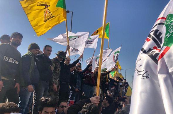 ההתפרעויות בבגדד, צילום: רויטרס