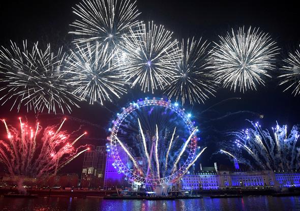החגיגות בלונדון, צילום: רויטרס