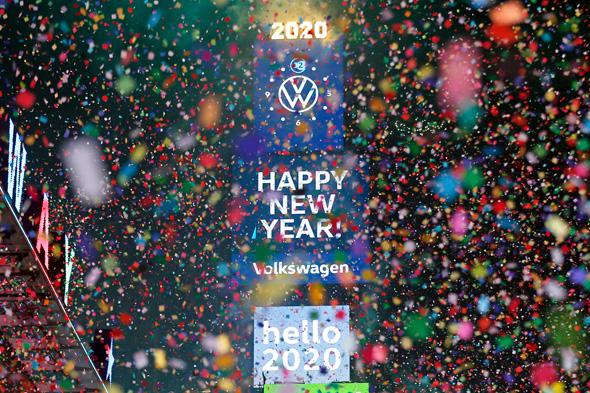 חגיגות 2020 בניו יורק, צילום: איי פי