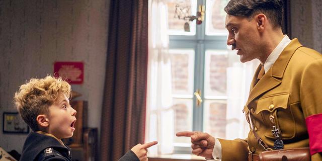 """שיחותי עם אדולף:  אין דרך להגדיר את """"ג'וג'ו ראביט"""" אלא כקומדיית שואה"""