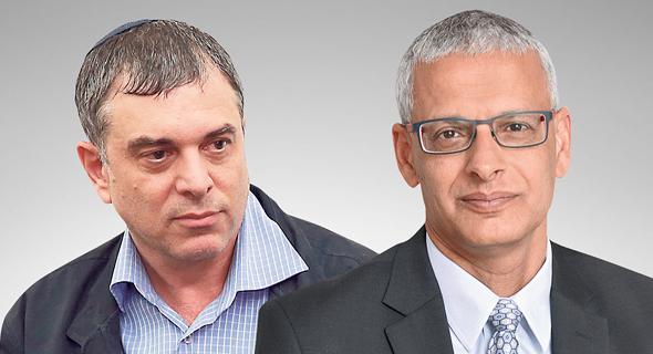 """מימין: מנכ""""ל """"גלובס"""" לשעבר איתן מדמון ומנכ""""ל משרד התקשורת לשעבר שלמה פילבר"""