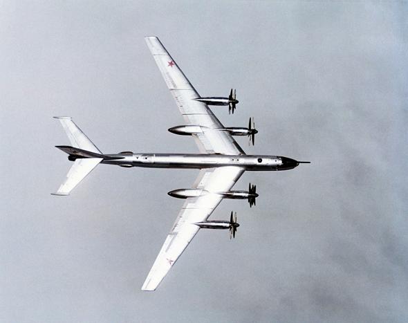 מפציץ כבד מדגם טופולב TU95