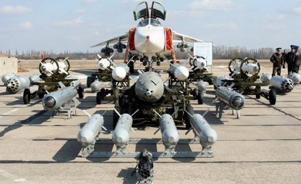 חלק מהחימוש שיכול המטוס לשאת