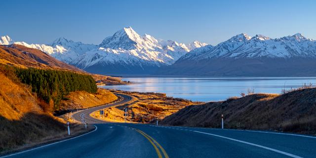 הר קוק בניו זילנד, צילום: שאטרסטוק