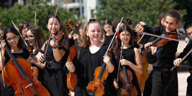 מוזיקה עם לב: הפילהרמונית הצעירה תקדיש קונצרט לילדים חולי לב