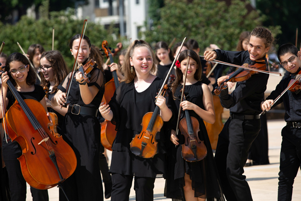 הפילהרמונית הצעירה , צילום: צילום: יעל אילן