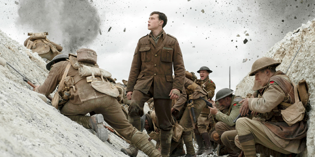 """""""1917"""" הוא סרט מרהיב, למרות המלחמה"""