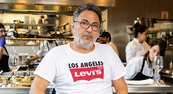 Celebrity chef Haim Cohen. Photo: Tal Shachar