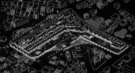 קירות מתקלפים תחנה מרכזית חדשה תמונה ראשית, עיצוב: בן כלפון