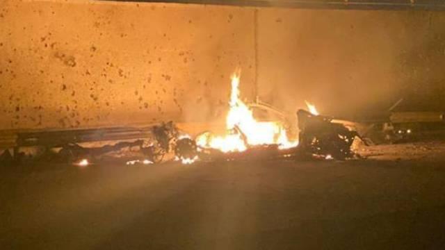 התקיפה האווירית שבה חוסל קאסם סולימאני