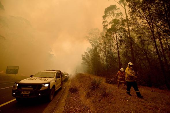השריפה באוסטרליה
