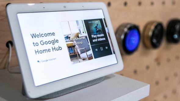 גוגל הום האב Google Home Hub, צילום: גטי אימג'ס