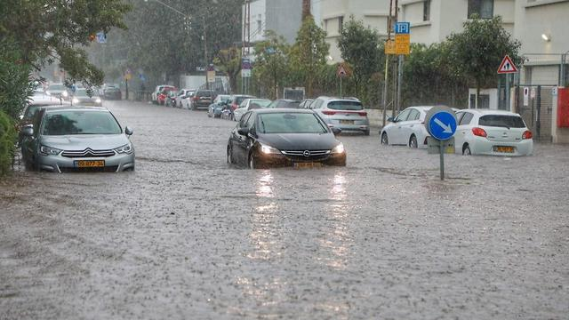 Flooding in Israel caused by January