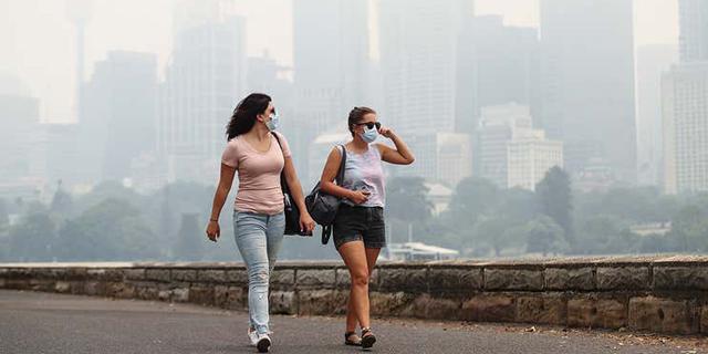 השריפות באוסטרליה מזניקות את ריכוז גזי החממה באטמוספירה
