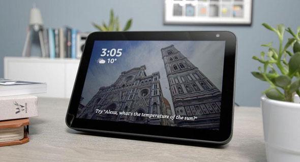 אמזון רמקול חכם אלקסה עם מסך Echo Show 8, צילום: Amazon