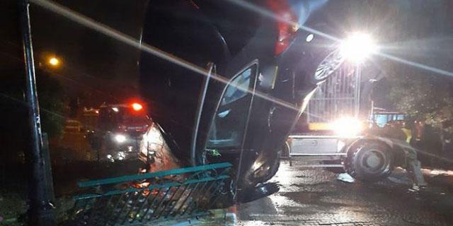 גבר נסחף עם רכבו בשיטפון בבנימינה - וטבע למוות